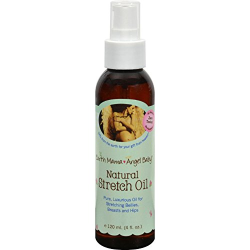 (EARTH MAMA ANGEL BABY Organic Stretch Oil, 4 FZ)