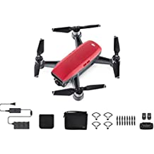 DJI Spark, Fly More Combo, Lava Red