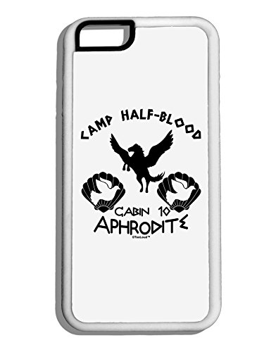 [TooLoud Cabin 10 Aphrodite Camp Half Blood White Dauphin iPhone 6 Cover] (God And Goddesses Costume Aphrodite)
