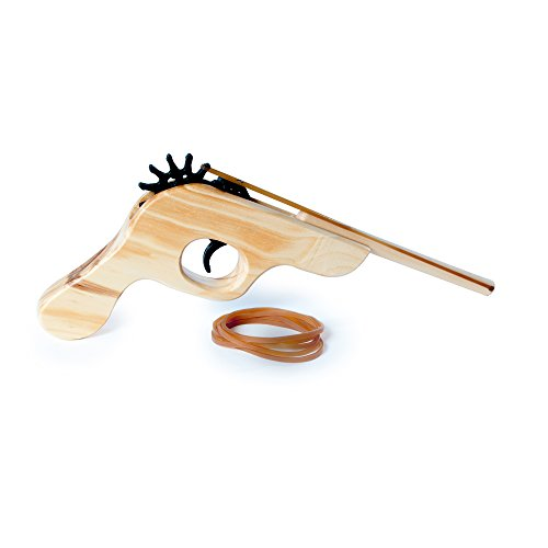 Westminister PL7920 Wooden Elastic Band Shooter (Make Wooden Toy Gun)