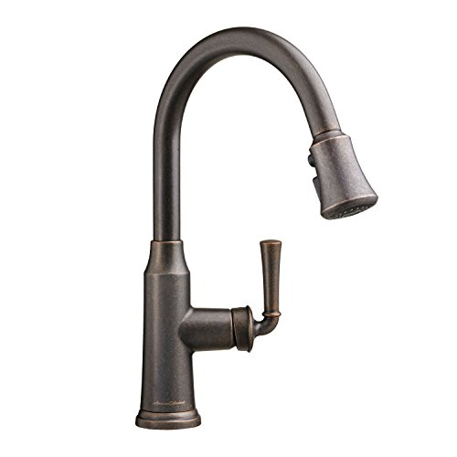 American Standard 4285300.224 Portsmouth Pullout Spray High-Arc Kitchen Faucet, Oil Rubbed - Oil Portsmouth