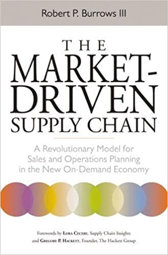 The Market Driven Supply Chain A Revolutionary Model For Sales And Operations Planning In New On Demand Economy Robert III 9780814431634 Amazon