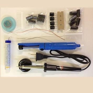 TV Monitor LCD Polaroid flm-3201 Capacitor Kit de reparación, (de soldador + de soldadura ...