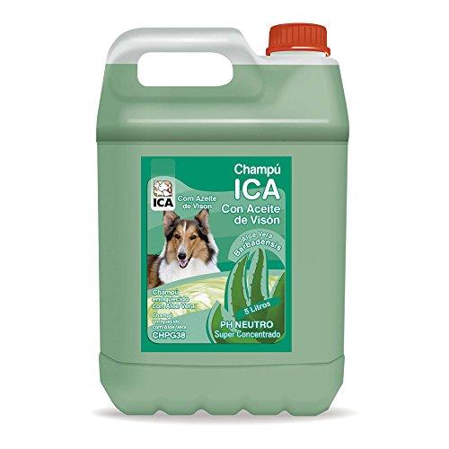 ICA chpg38Mink Oil Shampoo with Aloe Vera for Dogs