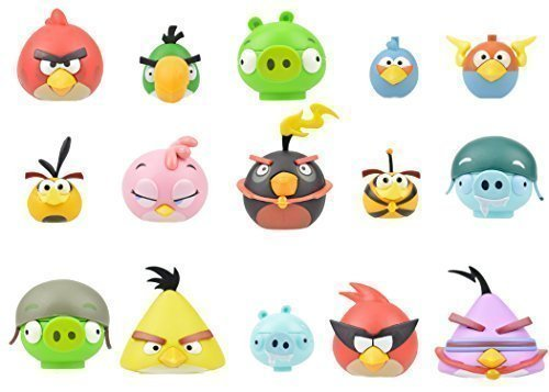 K'nex Angry Birds Series 1 Blind Bag Characters, 6-Pack (Commonwealth Games Costumes)
