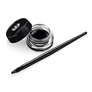 Rimmel Scandaleyes Waterproof Gel Eyeliner, Black, 0.085oz