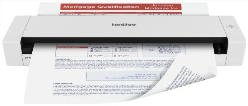 Review Brother Mobile Color Page Scanner, DS-720D, Fast Scanning, Compact and Lightweight, Duplex Sc...