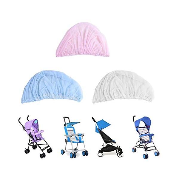 1 Pz Hot Full Outdoor Baby Infant Passeggini per bambini Passeggino Zanzara Insect Net Mesh Buggy Cover Baby Zanzariera 5 spesavip