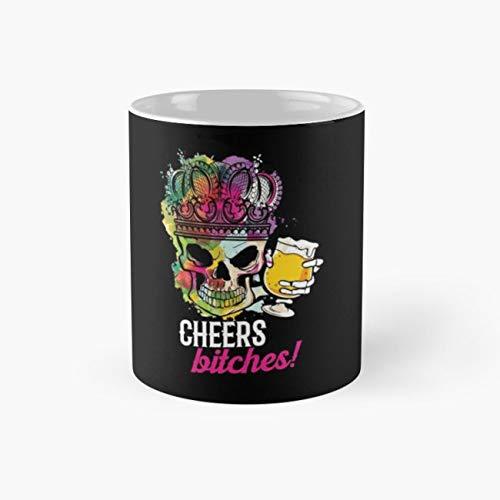Skeleton Skull Beer 11 Oz Coffee -
