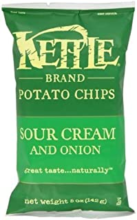 product image for Kettle Chips Sour Cream and Onion, 5-Ounce (Pack of 15) ( Value Bulk Multi-pack)
