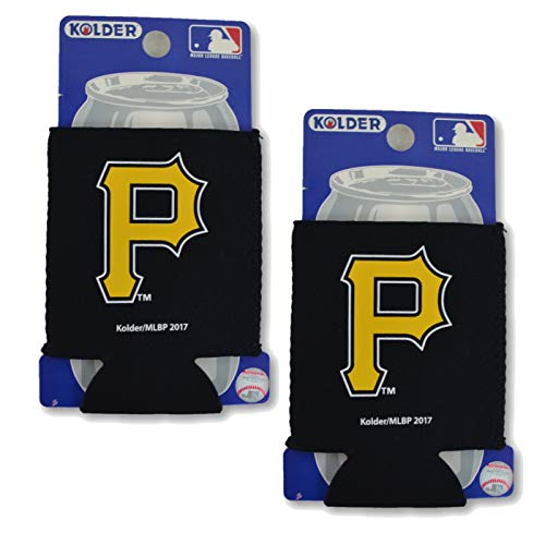 (Official Major League Baseball Fan Shop Authentic 2-Pack MLB Insulated 12 Oz Can Cooler (Pittsburgh Pirates))
