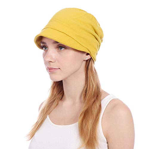 Womens Slouchy Beanie Hat Stylish Thin Hip-hop Soft Stretch Knit Slouchy Skull Beanie Hat Cap (Hats Hip Hop Women)