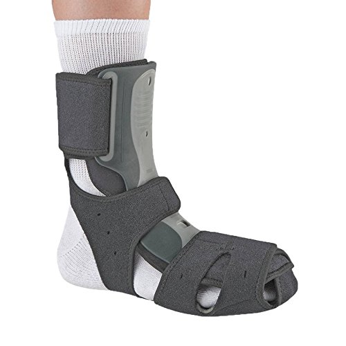 Ossur Exoform Dorsal Night Splint for Plantar Fasciitis, Achilles Tendonitis, Drop Foot and Post-Static Pain (Medium)