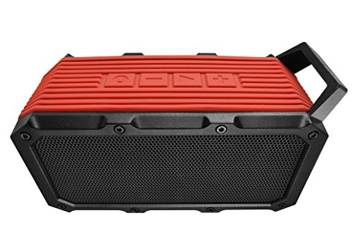 Divoom DV-ONGO-RED Voombox-ONGO Wireless Bluetooth Speaker (Red)