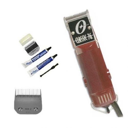 Oster Classic 76 clippers. BONUS: Includes blades 1, 2 & 000 by Oster