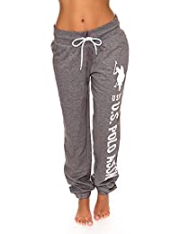 Women's Printed French Terry Boyfriend Jogger Sweatpants