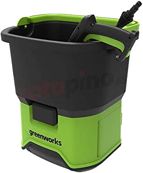 Greenworks Tools Portable Cordless Pressure Washer - The Best Motor Power