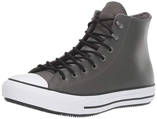 Converse Chuck Taylor All Star Winter First Steps Fashion Boot, Carbon Grey/Black/White, 7 M US