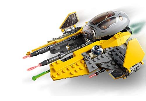 Lego Star Wars: Revenge of The Sith Anakin's Jedi Interceptor. Anakin Skywalker Building Toy (248 Pieces)