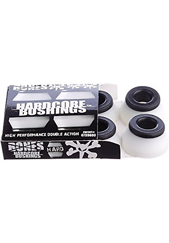 White Hard Wheel (BONES Wheels HardCore Bushings