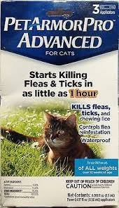 Pet Armor Pro Advanced For Cats Flea and Tick For All Weights 41B0tEuX4AL