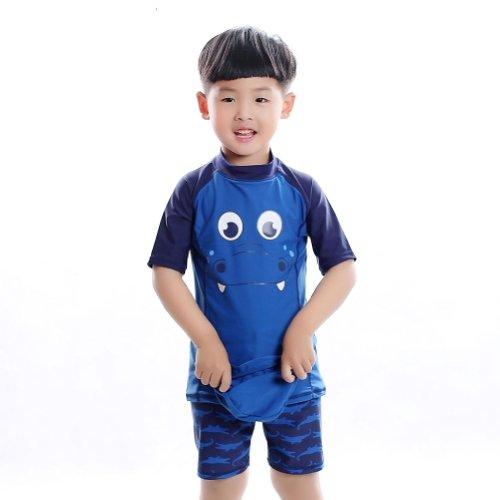 Wholesale 2014 New Arrival Boys' Rash Guard Short Sleeve Swimsuits supplier