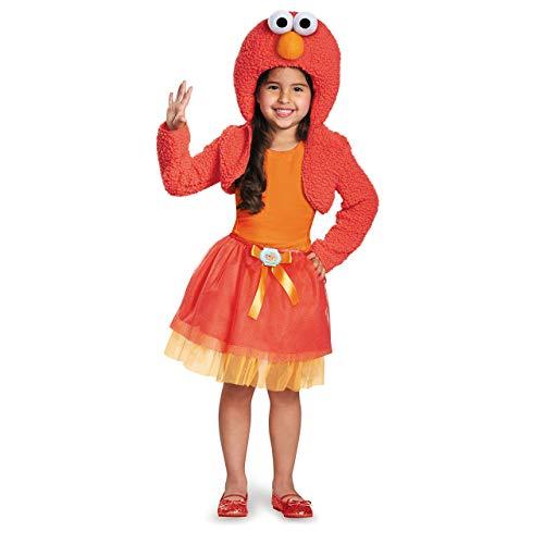 Disguise 76895W Elmo Shrug And Tutu Child Kit Costume, (12-18 Months) -