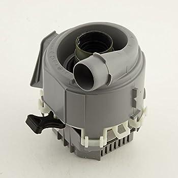Image of Home Improvements Bosch 00753351 Dishwasher Circulation Pump with Heater Genuine Original Equipment Manufacturer (OEM) Part