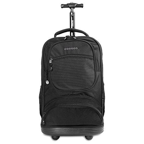 World Black J Rolling One Size Backpack New York Sunburst Black dIpxYpr