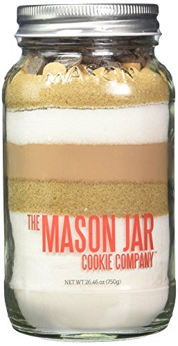 The Mason Jar Cookie Company Brownie Mix, Peanut Butter, 26.46 Ounce
