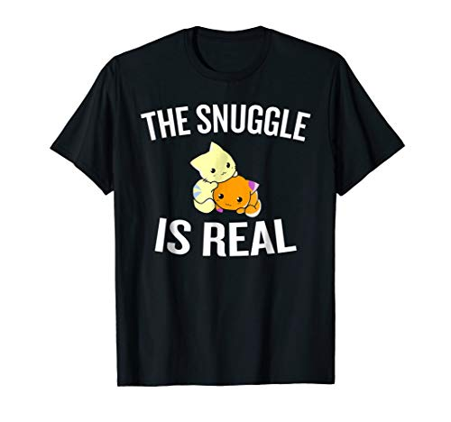 The Snuggle Is Real T-shirt Halloween Christmas Funny Cool H