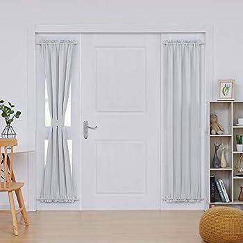 Amazon Com Deconovo Thermal Insulated Blacktout Curtains