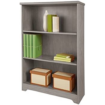 RealspaceR Magellan Collection 3 Shelf Bookcase Gray