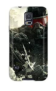 New Cute Funny Crysis 3 Video Game Case Cover/ Galaxy S5 Case Cover