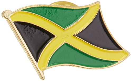 Jamaica Flag Lapel Pin - US Flag Store Jamaica Lapel Pin