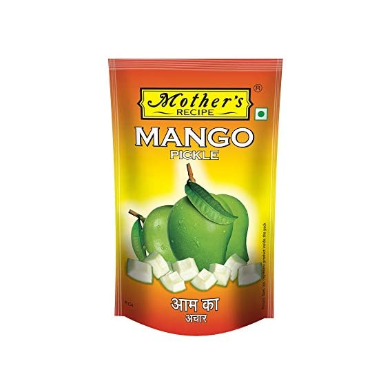 Mothers Recipe Mango Pickle (Roi) Pouch, 500 g