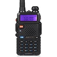 Baofeng UV 5RTP 136-174 / 400-520MHz Tri-Power 1/4 / 8W FM Ham Talkie-walkie, Noir