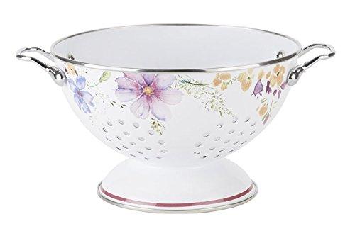 Villeroy & Boch 1360147010 Mariefleur Kitchen Colander, Floral by Villeroy & Boch