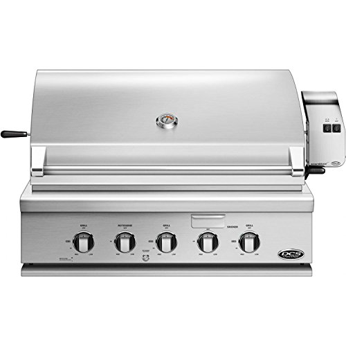 DCS Built-In Traditional Grill with Rotisserie (71301) (BH1-36R-N), 36-Inch, Natural Gas