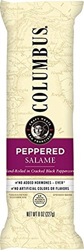 Columbus - Peppered Salame, 2 - 8 Ounce. Sticks
