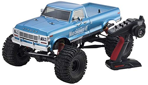 Kyosho 34254B Mad Crusher VE RC Toy, Blue ()