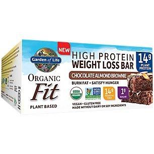 (Garden of Life Organic Fit Bar Chocolate Almond Brownie (12 per carton))