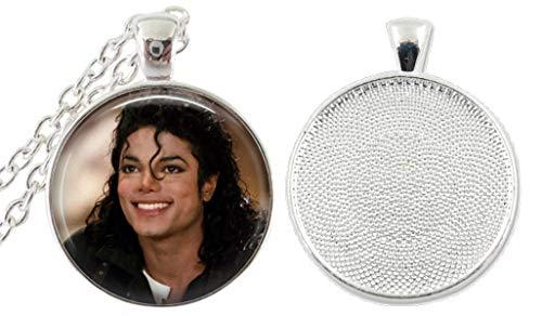 1 Michael Jackson Bezel Pendant Necklace #3 (Michael Jackson Man In The Mirror Chords)