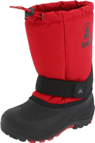 Boots Cold Fashion Weather - Kamik Rocket Cold Weather Boot (Toddler/Little Kid/Big Kid),Red,9 M US Toddler