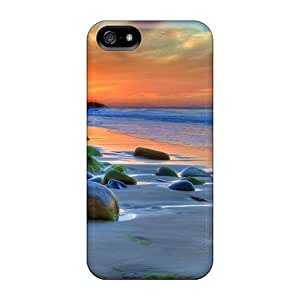 Defender Cases With Nice Appearance (wonderful Beach Scape Hdr) For Iphone 5/5s