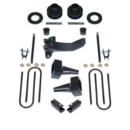 - ReadyLift 69-2527 2.5'' SST Lift Kit with 5'' Rear Blocks (Ford Super Duty F250/F350/F450 4WD, 1-Pc Drive Shaft Only, 2011-2016), 1 Pack