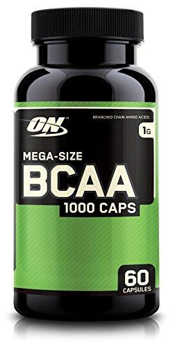 Optimum Nutrition BCAA Capsules, 1g, 60 Count