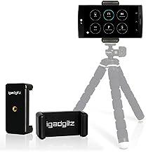 iGadgitz Tripod and Selfie Stick Smartphone Holder Mount Bracket Adapter for LG G3, G4, G5, V10, G4c, G4 Beat, G Flex, Optimum G Pro