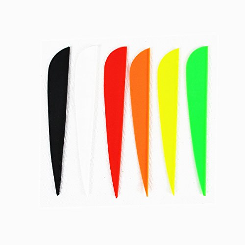 """Arrow Fletching Vanes, MS JUMPPER 4"""" TPU Plastic Archery for sale  Delivered anywhere in Canada"""