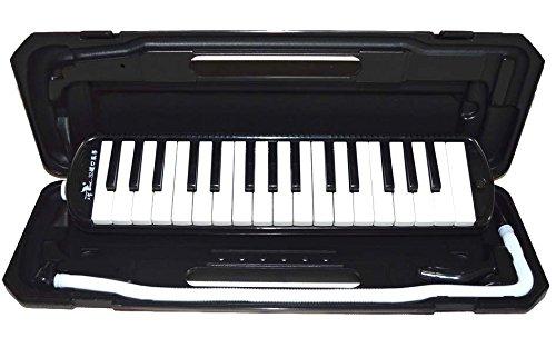 Melodica 32 Keys, Black Color, Pianica, Blow Harmonica Swan SW32B